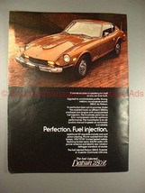 1976 Datsun 280-Z Car Ad, Perfection Fuel Injection!! - $14.99