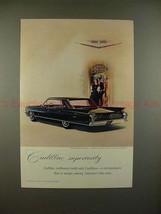 1962 Cadillac Car Ad - Cadillac Superiority - NICE! - $14.99
