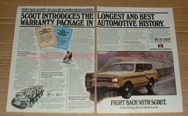 1980 2pg International Harvester Scout Ad, Best Package - $14.99