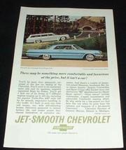 1963 Chevy Bel Air Wagon & Impala Sport Ad! - $14.99