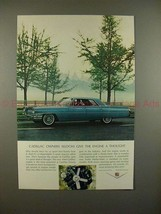 1964 Cadillac Car Ad - Seldom Give The Engine a Thought - $14.99