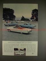 1964 Cadillac de Ville Convertible Ad - Any Budget!! - $14.99
