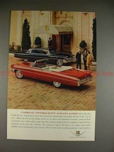 1963 Cadillac Convertible & Limousine Ad - Don't Agree! - $14.99