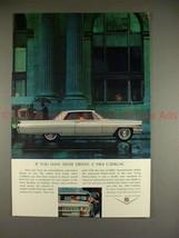1964 Cadillac Coupe de Ville Ad, If Youve Never Driven! - $14.99
