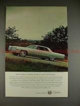 1965 Cadillac Calais Sedan Ad - When Owners Say Great! - $14.99