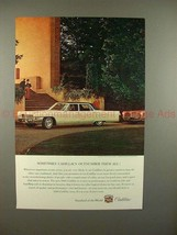 1965 Cadillac Car Ad - Sometimes Outnumber Them All!! - $14.99
