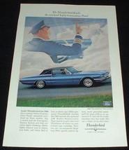 1965 Ford Thunderbird Town Landau Ad, NICE!! - $14.99