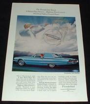 1966 Ford Thunderbird Town Hardtop Ad, NICE!! - $14.99