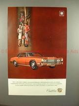 1969 Cadillac Fleetwood Eldorado Car Ad - NICE!! - $14.99