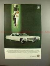 1969 Cadillac Fleetwood Brougham Car Ad - NICE!! - $14.99