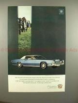 1969 Cadillac Fleetwood Eldorado Car Ad!! - $14.99