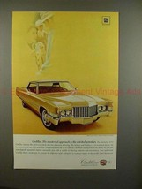 1970 Cadillac Coupe DeVille Car Ad - Masterful Approach - $14.99