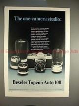 1970 Beseler Topcon Auto 100 Ad - One Camera Studio!! - $14.99