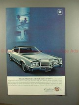 1970 Cadillac Eldorado Car Ad, What Better Credentials! - $14.99