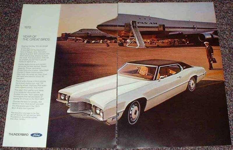 1970 Ford Thunderbird Special Brougham Landau Ad!!