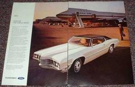 1970 Ford Thunderbird Special Brougham Landau Ad!! - $14.99