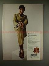 1970 Dingo Boots Ad w/ Joe Namath - The Bootman, NICE!! - $14.99
