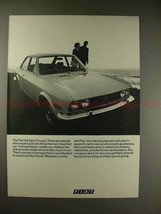1970 Fiat 124 Sports Coupe Ad - Expect Just One Thing! - $14.99