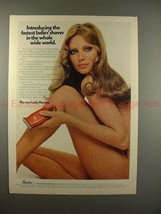 1970 Lady Norelco Shaver Ad w/ Nude Woman - Fastest!! - $14.99