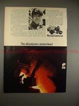 1970 Mamiya Universal Camera Ad - All-Purpose Lives!! - $14.99