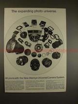 1970 Mamiya Universal Camera System Ad - Expanding!! - $14.99