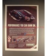 1990 GM Performance Parts Ad w/ Dale Earnhardt NASCAR!! - $14.99