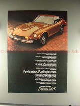 1976 Datsun 280-Z Car Ad - Perfection, Fuel Injection!! - $14.99