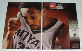 1996 Nike Clothes Ad w/ Alonzo Mourning - $14.99