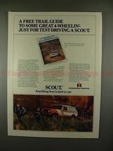 1979 International Harvester Scout Ad - Great 4-Wheelin - $14.99