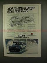 1979 International Harvester Scout Traveler Ad - NICE! - $14.99