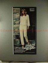 1981 Sears Cheryl Tiegs Collection Ad - Loungewear!! - $14.99