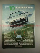 1981 Porsche 924 Turbo Ad - Dynamic Response of Tires! - $14.99