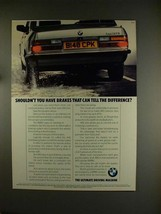 1984 BMW ABS Brakes Ad, featuring 528iSE Car! - $14.99