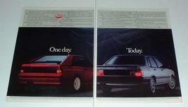 1984 2-page Audi Sport Quattro & 80 Sport Car Ad! - $14.99