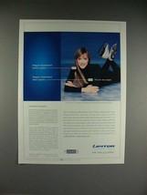 2002 Lipitor Ad w/ Peggy Fleming - $14.99