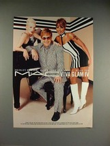 2003 M-A-C Ad, Shirley Manson, Elton John, Mary J Blige - $14.99