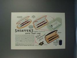 1941 Lady Sheaffer, Vigilant & Craftsman Pen Ad! - $14.99