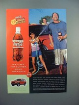 1999 Coca-Cola Coke Ad - Red Hot Summer - $14.99