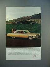 1963 Cadillac Car Ad - Its Closest Rival - $14.99