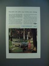 1962 Chevrolet Bel Air 4-door Station Wagon Ad! - $14.99