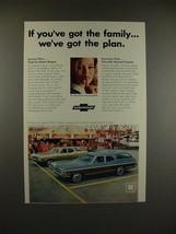 1968 Chevrolet Caprice Estate, Chevelle Nomad Wagon Ad - $14.99