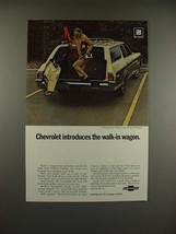1969 Chevrolet Kingswood Estate Wagon Ad - Walk-in - $14.99