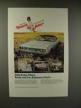 1969 Dodge Polara Car Ad - Expensive it Isn't - $14.99