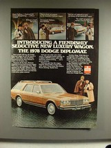 1978 Dodge Diplomat Wagon Ad - Fiendishly Seductive - $14.99