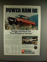 1982 Dodge Power Ram 50 Truck Ad - Introduces - $14.99