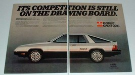 1979 Dodge Omni 024 Car Ad - Drawing Board - $14.99