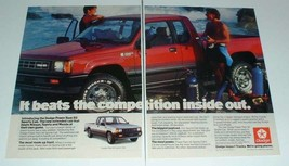 1987 Dodge Ram 50 Sports Cab Truck Ad - Inside Out - $14.99