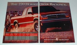 1993 Dodge Dakota Club Cab Truck Ad - 220 Horsepower - $14.99