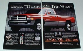 1994 Dodge Ram 1500 Truck Ad - Truck of the Year - $14.99