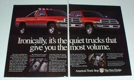 1995 Dodge Ram, Ram Club Cab Truck Ad - Ironically - $14.99